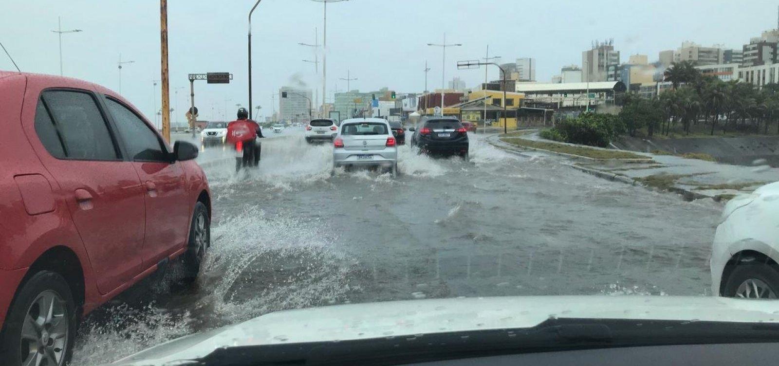 Chuvas em Salvador: Codesal emite alerta máximo para deslizamentos e alagamentos