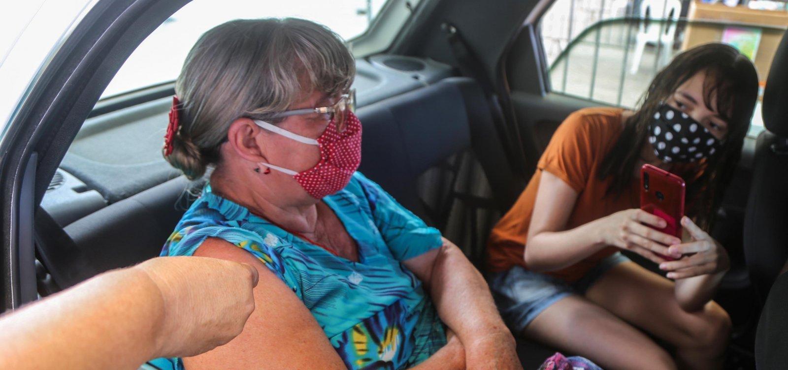 Salvador tem mais de 100 mil vacinados com as duas doses contra a Covid