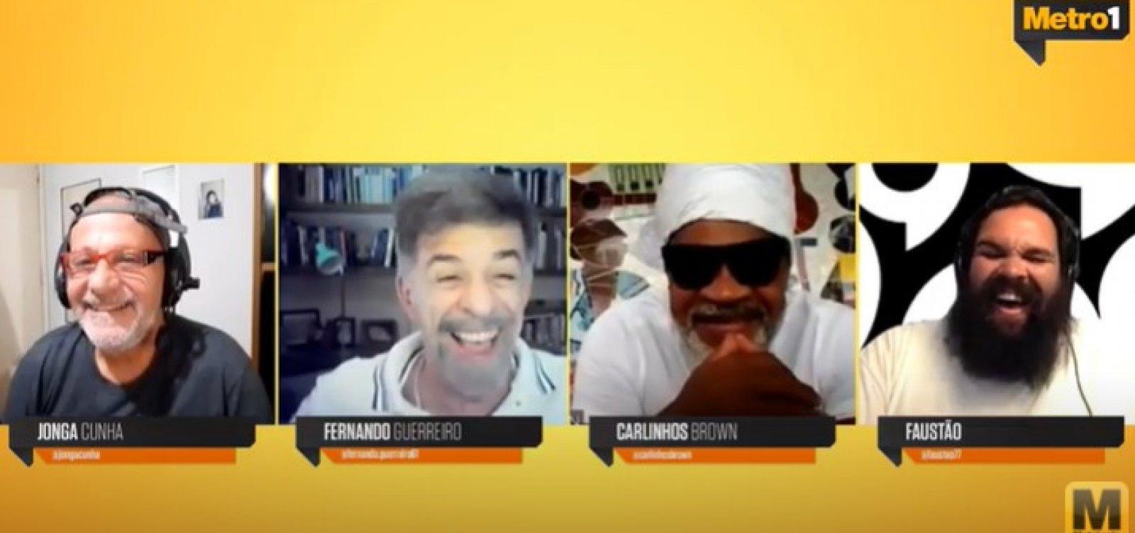 'Vamos nos reinventar, achar uma forma de fazer', diz Brown sobre o Carnaval pós pandemia