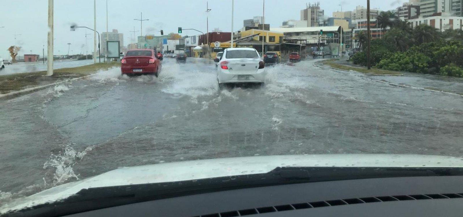 Por conta de chuvas, Defesa Civil aciona sirenes em mais dois bairros de Salvador