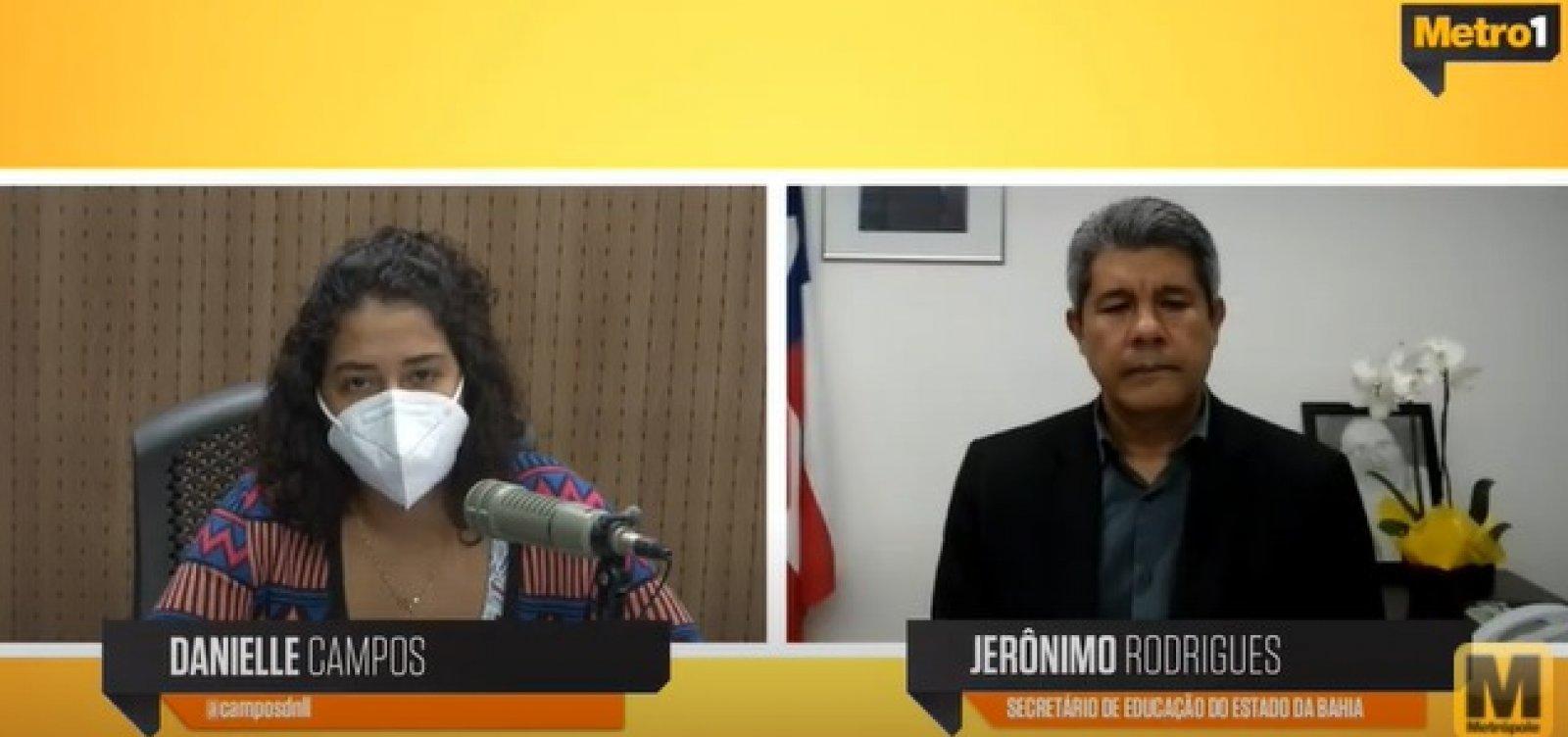 'Estamos em um momento de aprendizado', diz secretário de educação da Bahia sobre retorno às aulas