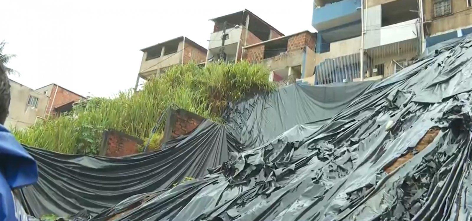 Chuva em Salvador: mais três sirenes de alerta para riscos de deslizamentos são acionadas