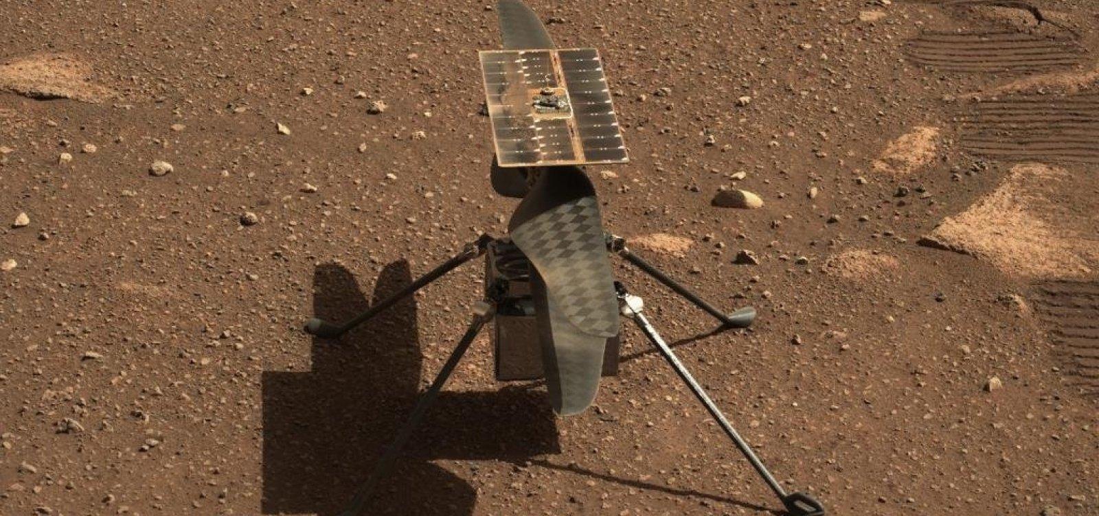 Primeiro voo de helicóptero em Marte pode acontecer nesta quarta