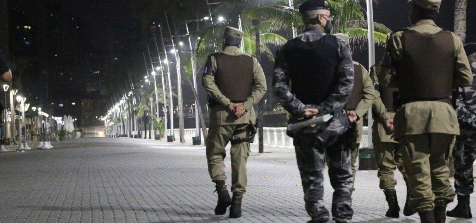 Governo prorroga toque de recolher em toda a Bahia por mais uma semana