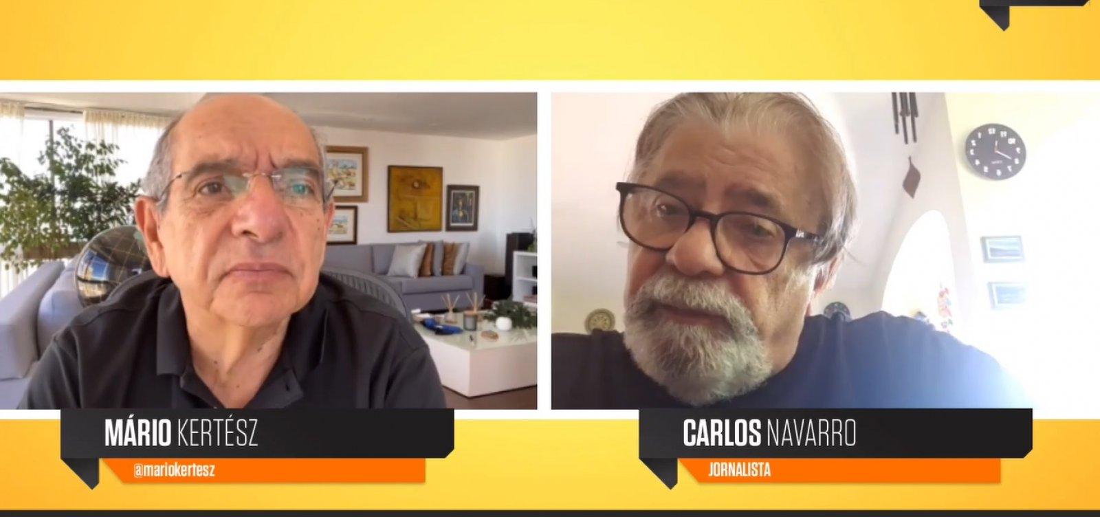 Carlos Navarro fala sobre seu novo livro 'Goroba e os amores errantes'