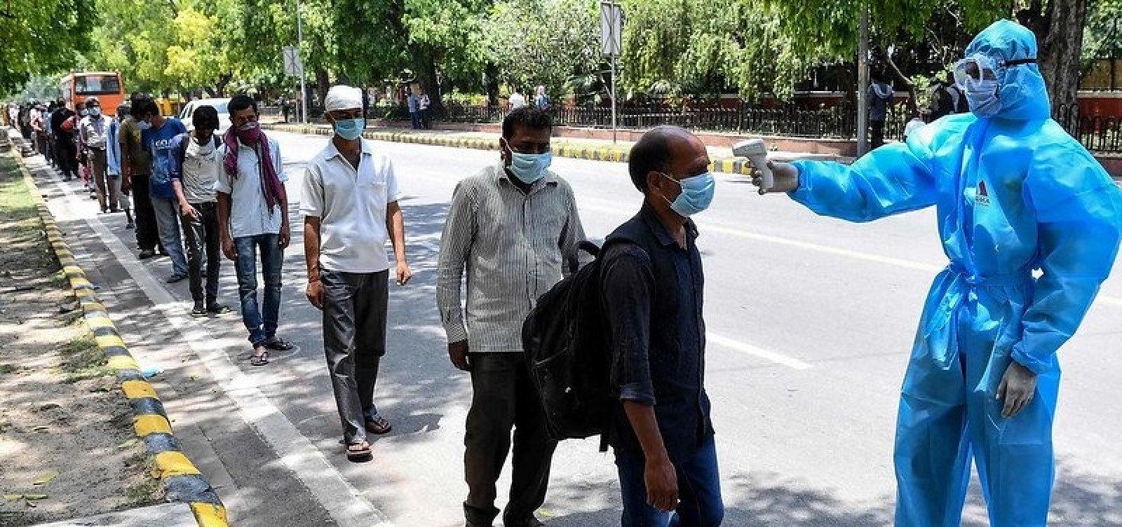 Índia passa Brasil e é 2º país com mais casos de Covid-19 no mundo
