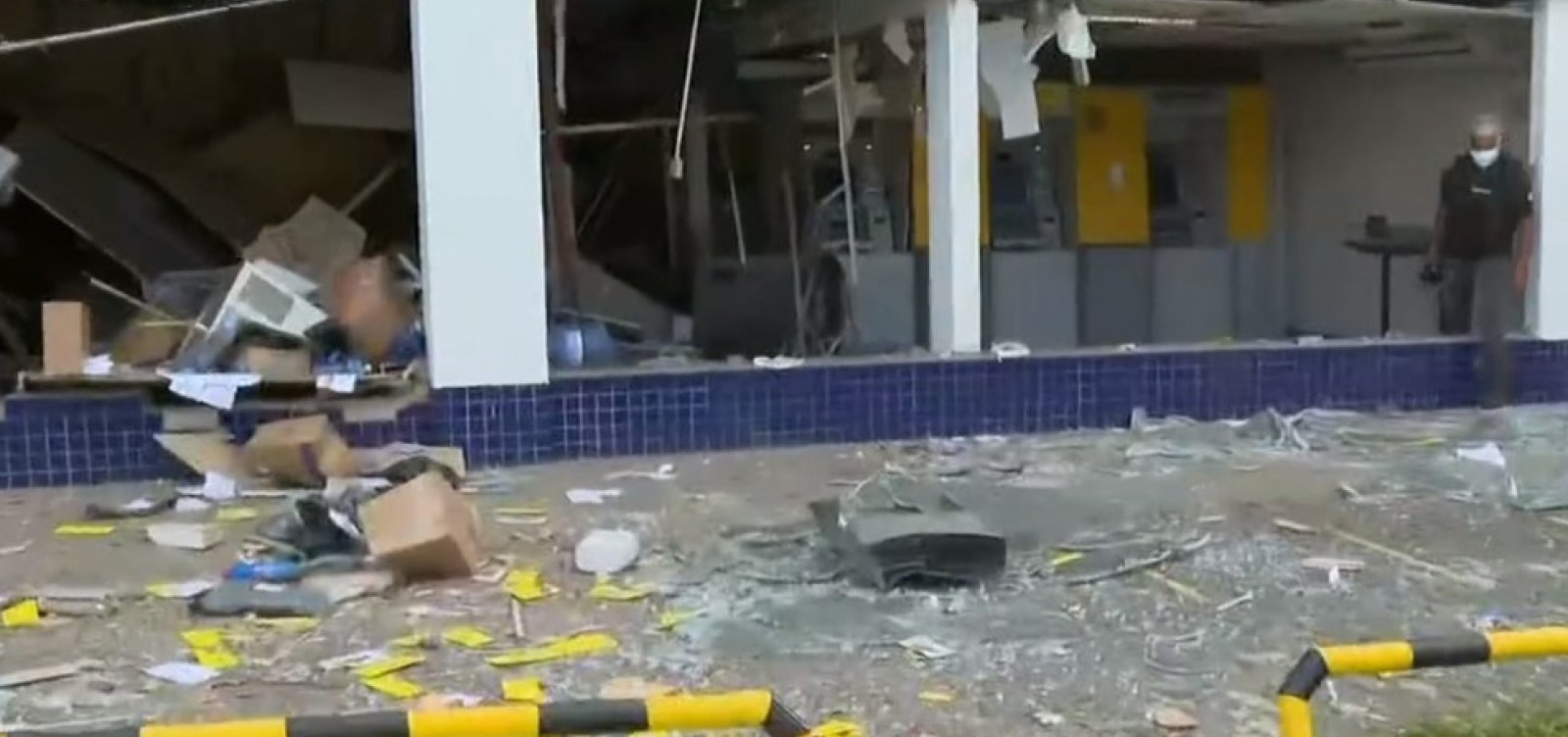 Criminosos atacam segunda agência do Banco do Brasil em quatro dias