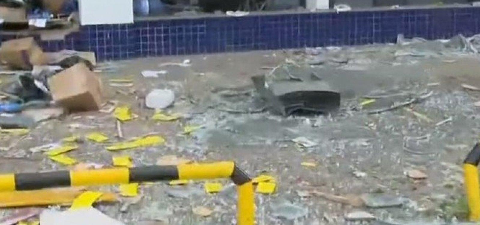 """Com nova explosão, Bahia tem ataque a banco """"dia sim, dia não"""" em abril"""
