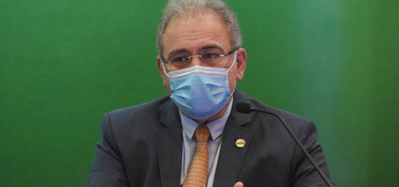 Queiroga diz que 1,5 milhão de brasileiros estão com a segunda dose da vacina atrasada