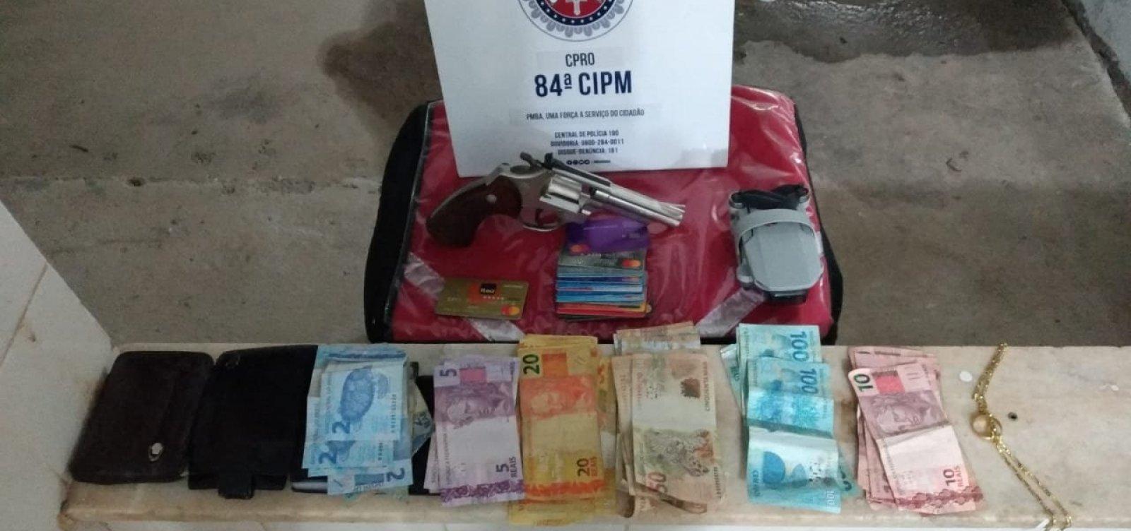 Assaltante é localizado em tentativa de roubo a lanchonete em Barreiras