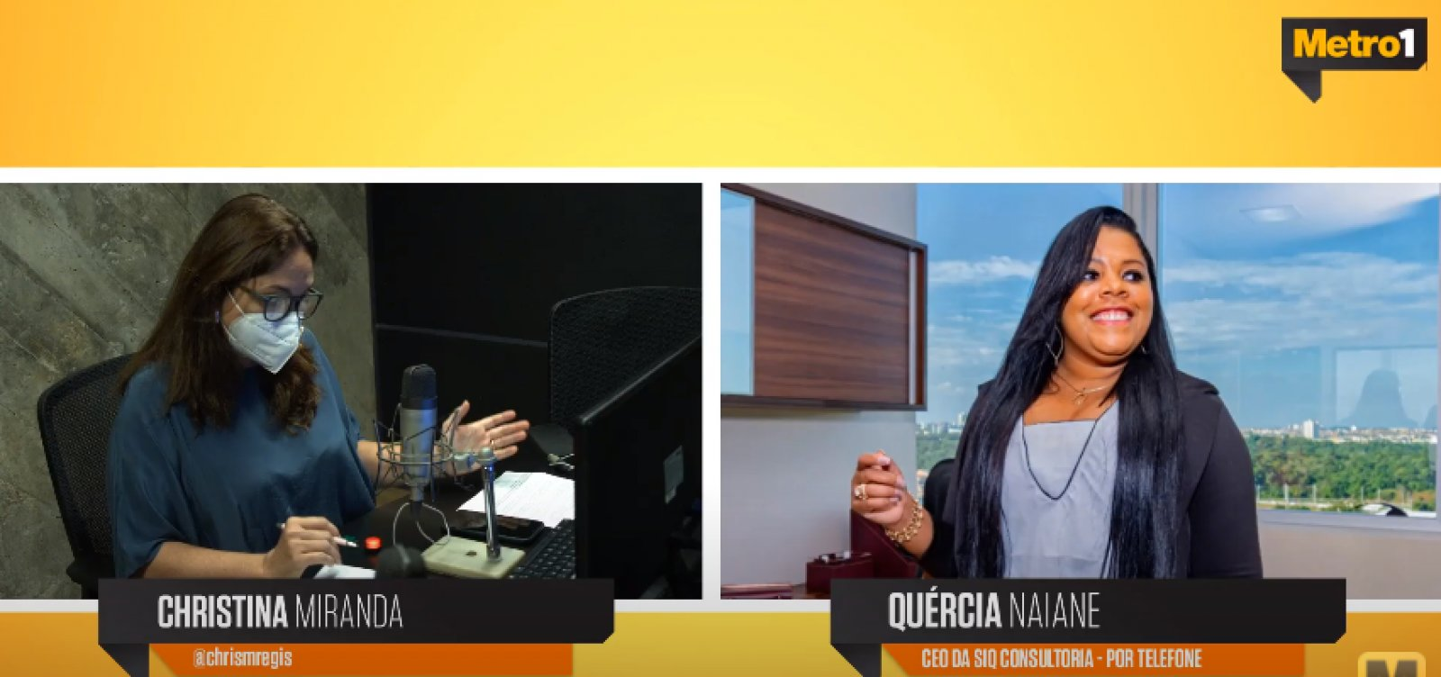 Edital do governo da Bahia para pequenas empresas é tema de entrevista no Metrópole Serviço