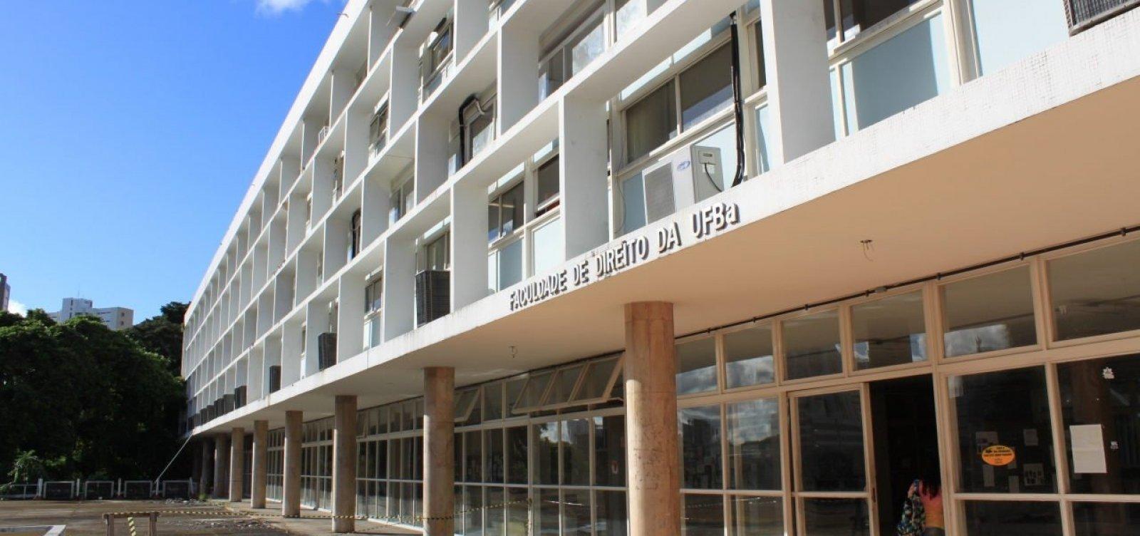 Faculdade de Direito da UFBA celebra 130 anos em evento virtual nesta quinta