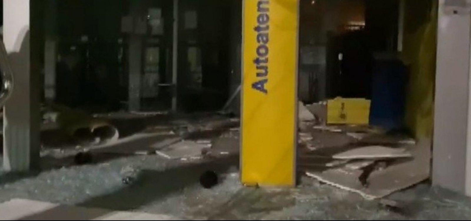 'Novo Cangaço' ataca novamente e explode agência em Ubaíra