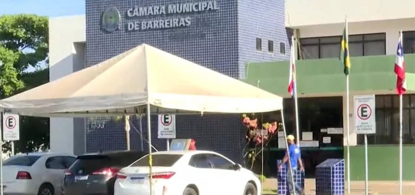 Câmara de Barreiras suspende sessões presenciais devido a aumento de casos de Covid-19