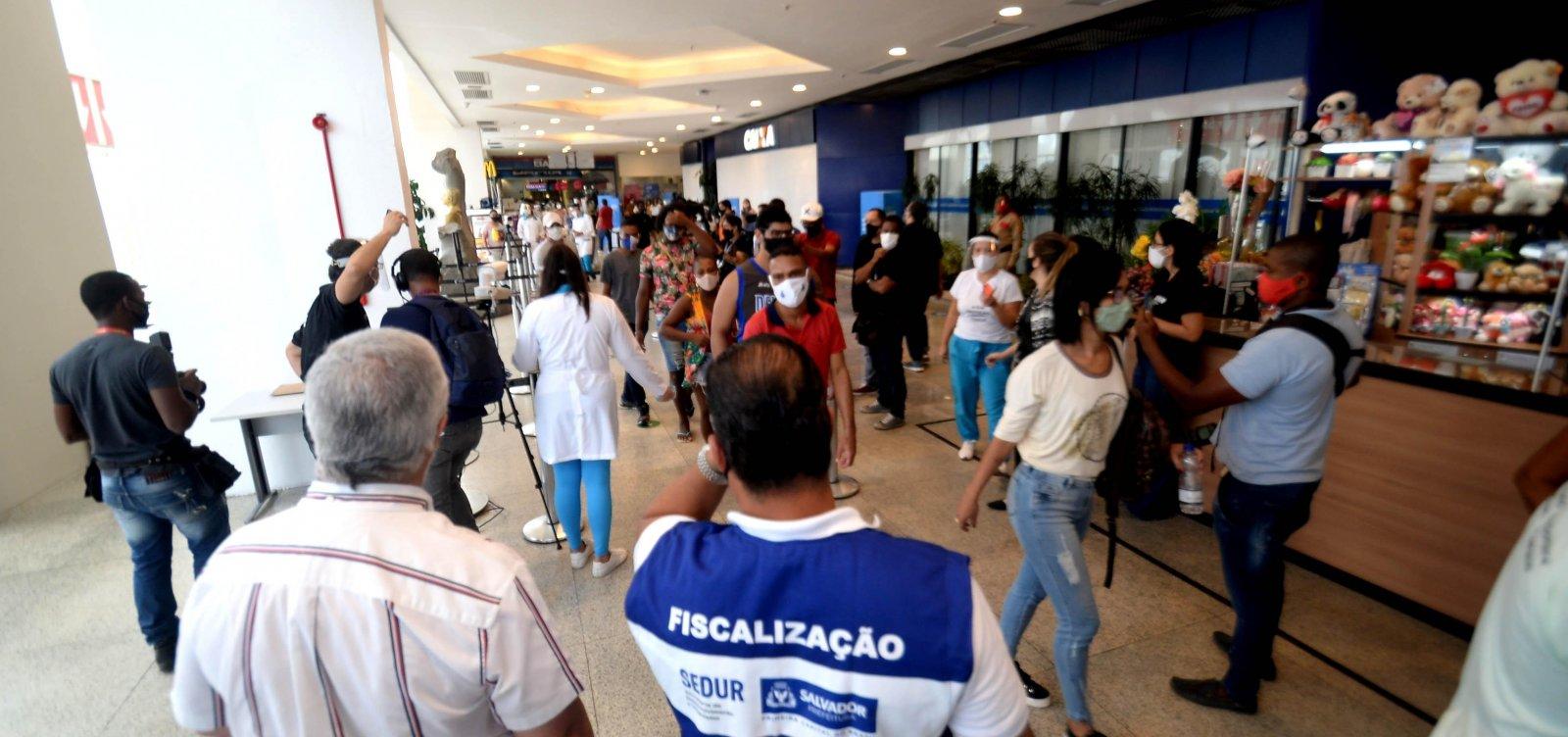 Feriado muda restrição e lojas poderão abrir nesta segunda em Salvador