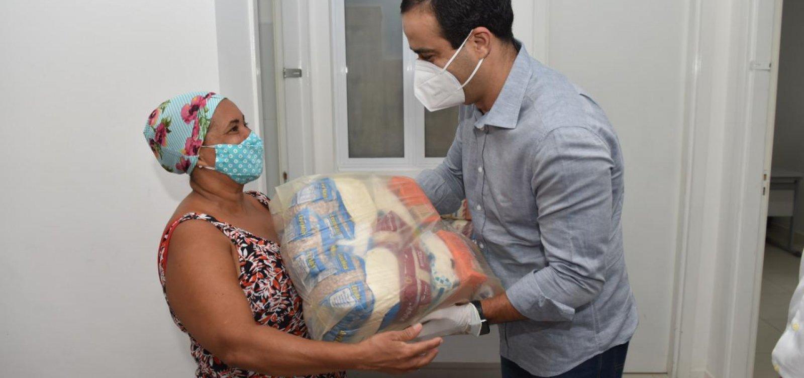 Prefeitura reforçará entrega de cestas para pessoas em situação de vulnerabilidade