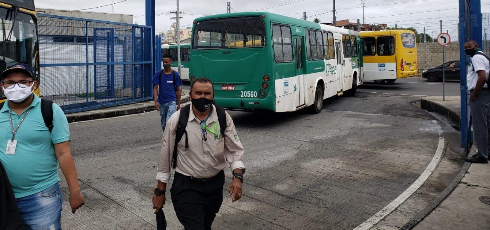 Prefeitura negocia liberação de FGTS para acabar protesto dos rodoviários em Salvador