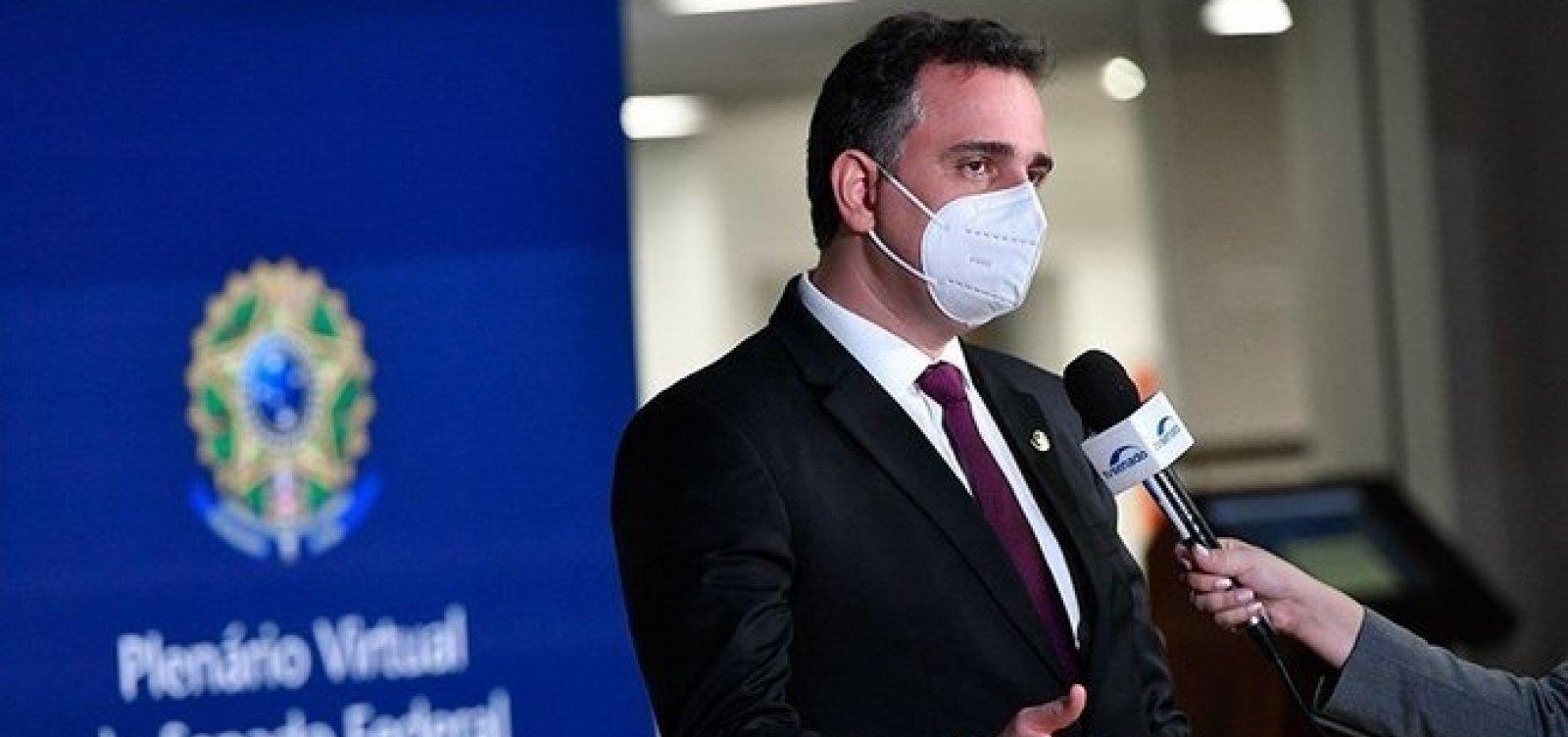 Presidente do Senado diz que CPI da Pandemia será instalada no próximo dia 22 ou no dia 27