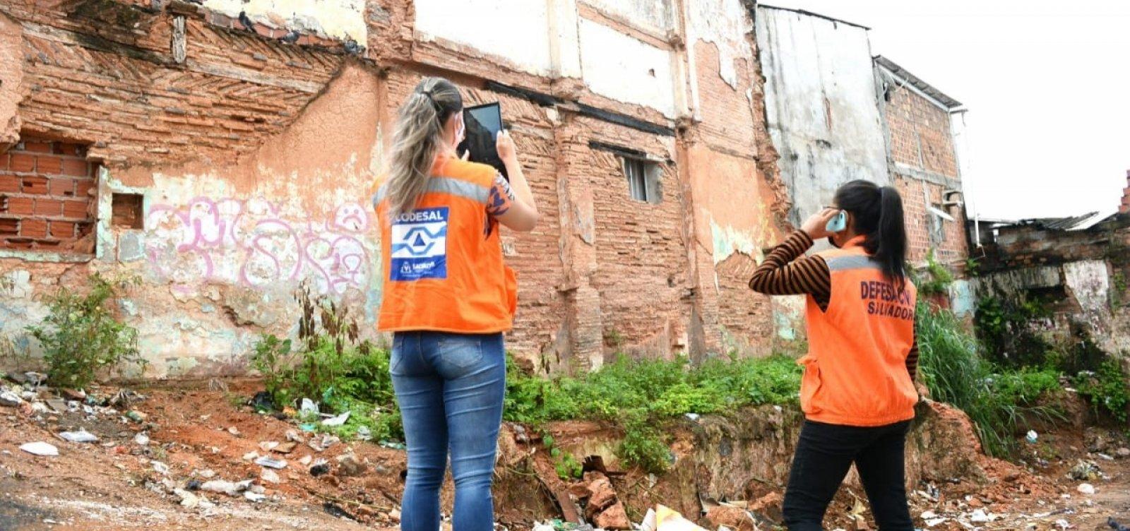 Dia chuvoso faz disparar número de ocorrências em Salvador