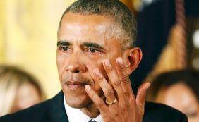 Emocionado, Obama anuncia ações para reduzir violência com armas de fogo nos EUA