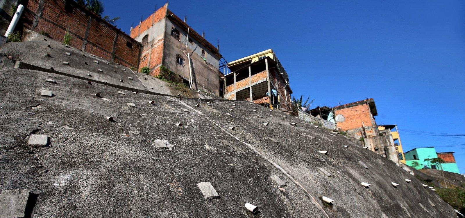 Áreas são desapropriadas em Salvador e Candeias para construção de encostas