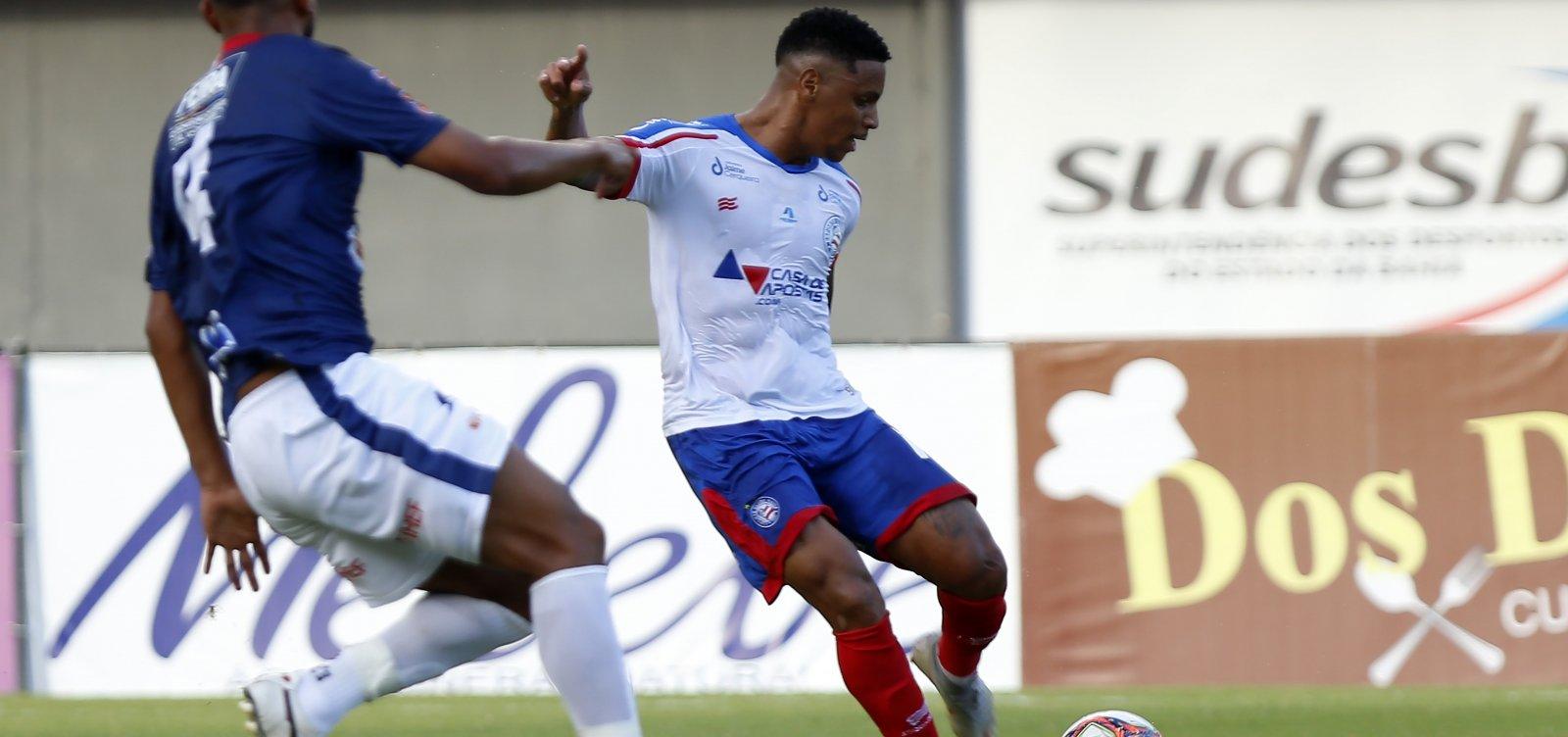 Bahia vence Bahia de Feira por 1x0 e mantém chance de classificação