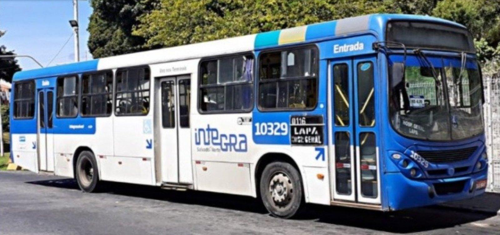 Paralisação de ônibus acontece até 8h em Salvador