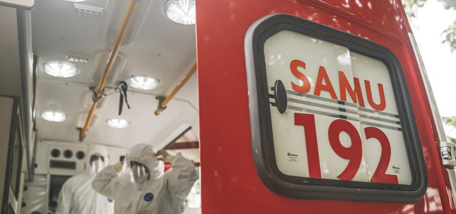 Pane suspende ligações do Samu e ocorrências são registradas no 190