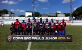 Bahia vence o Sabiá-MA por 5 a 3 e se classifica para a segunda fase da Copa SP
