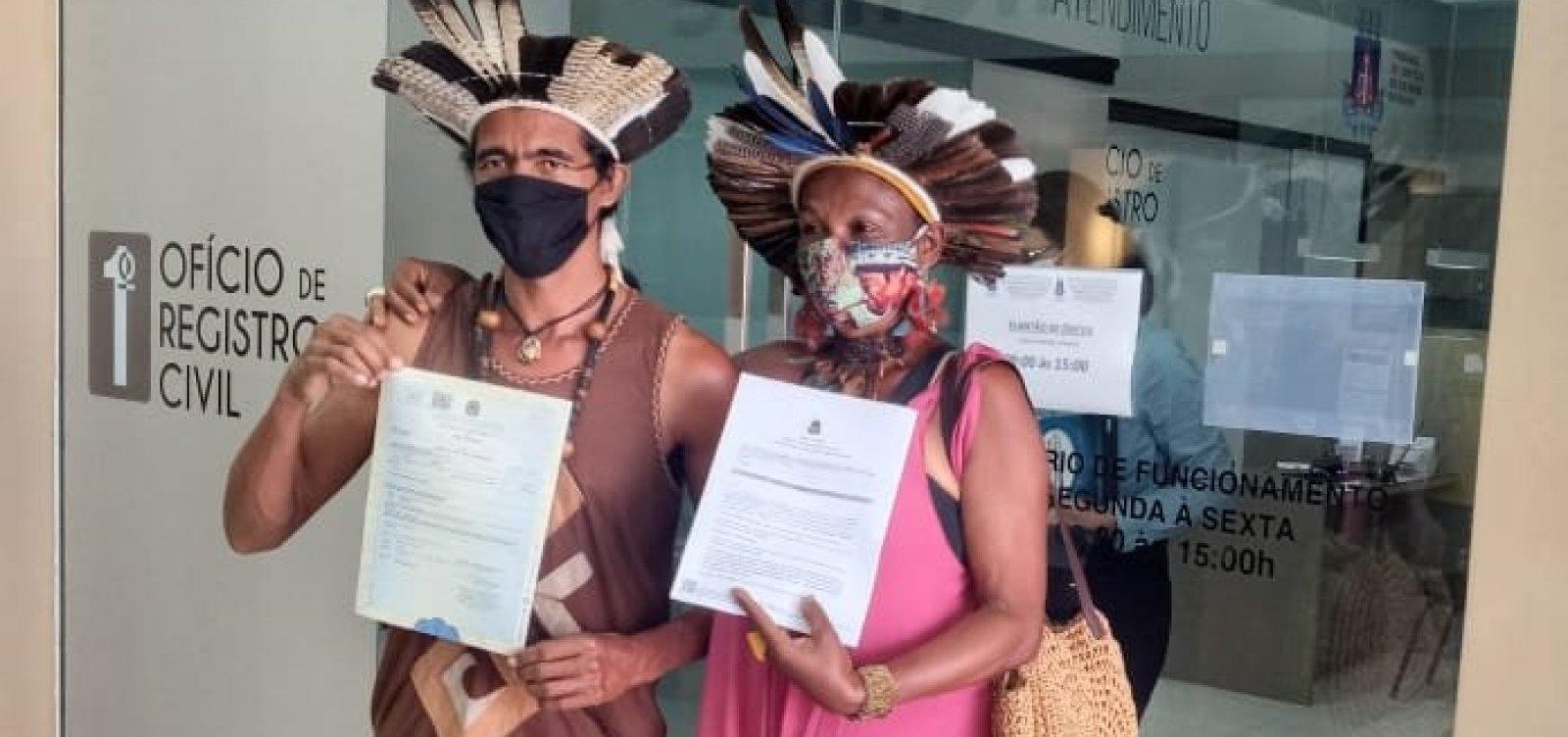 Ação na Justiça garante troca para nomes indígenas em registro civil