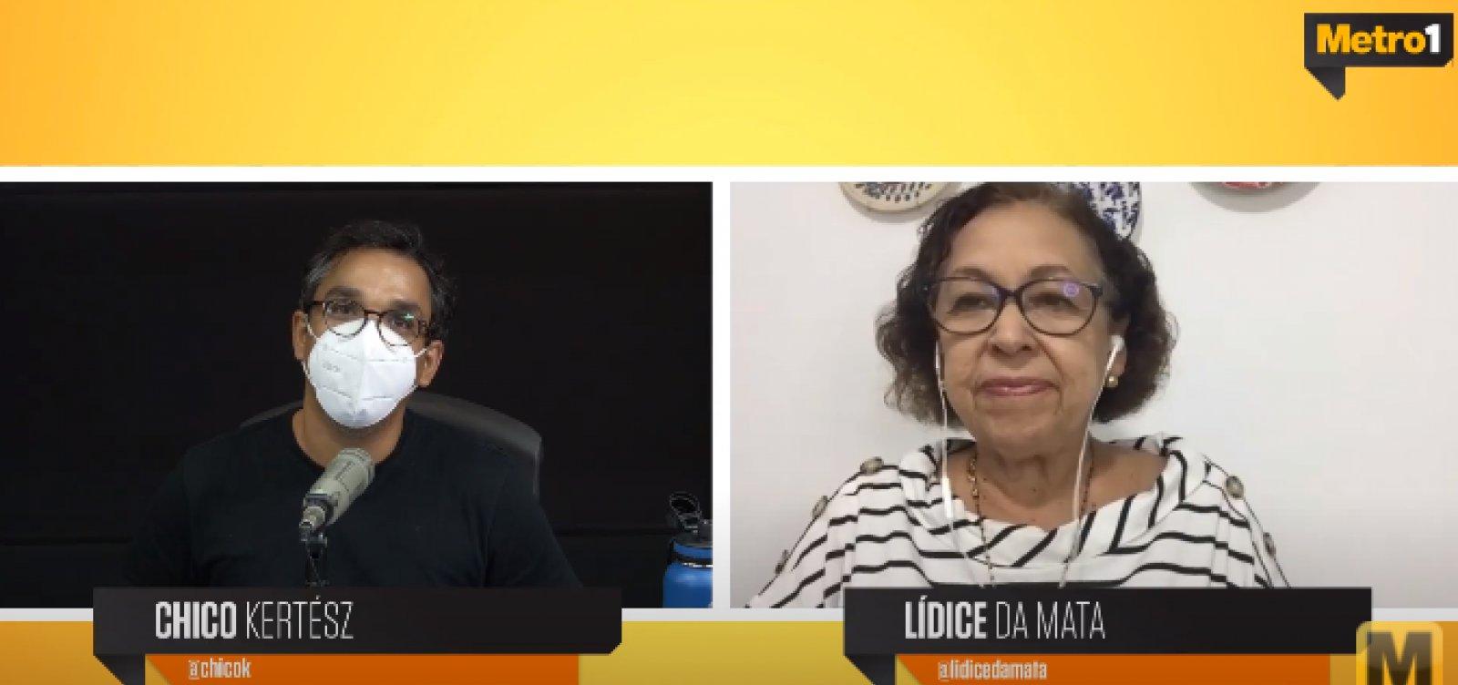 """""""Presidente não deve ser só afastado, como também punido"""", diz Lídice sobre gestão Bolsonaro na pandemia"""