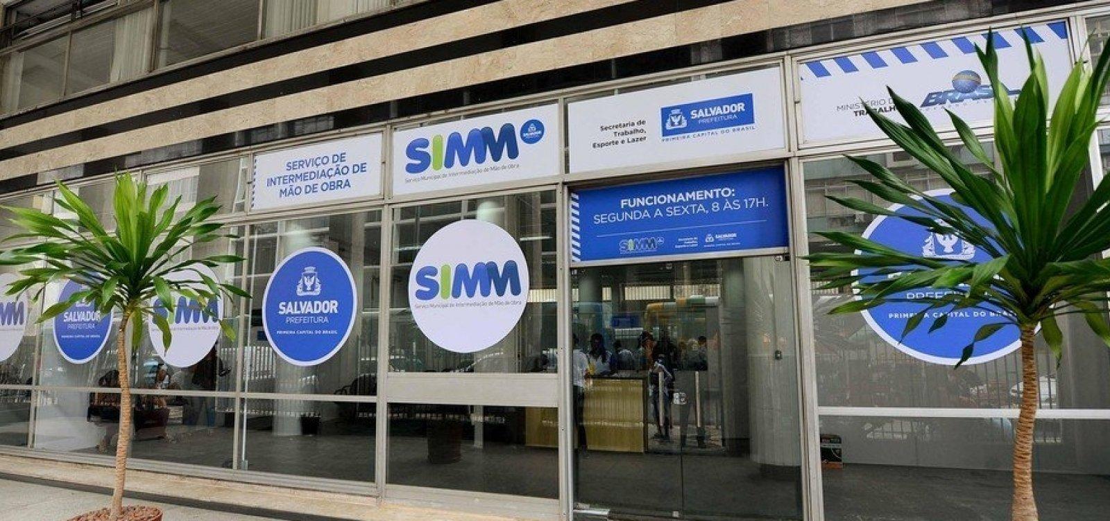Simm oferece 40 vagas de emprego em Salvador para esta terça; confira