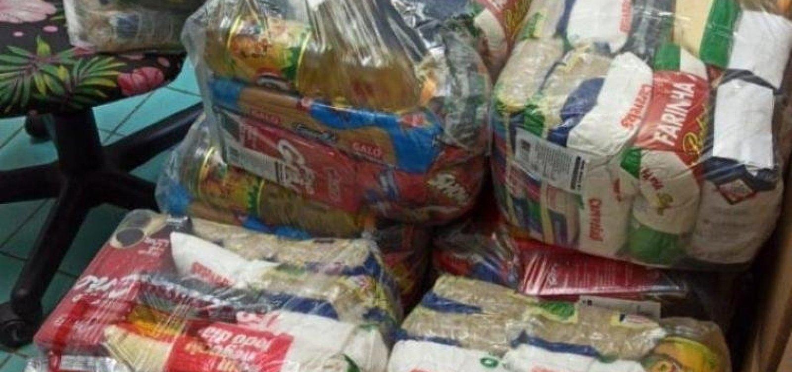 Prefeitura de Salvador inicia entrega de 20 mil cestas básicas