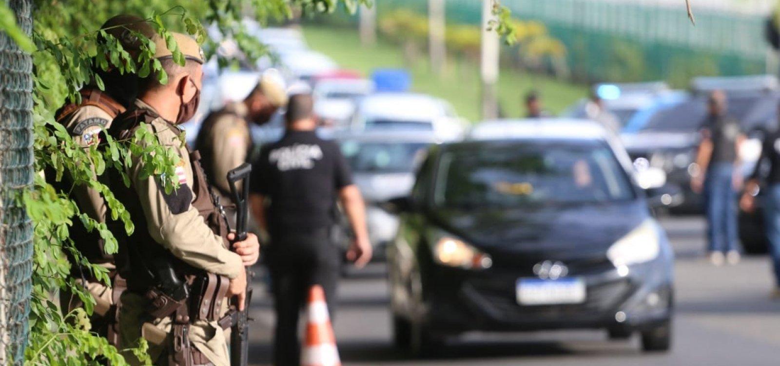 Roubos de veículos em Salvador caem 22% em abril