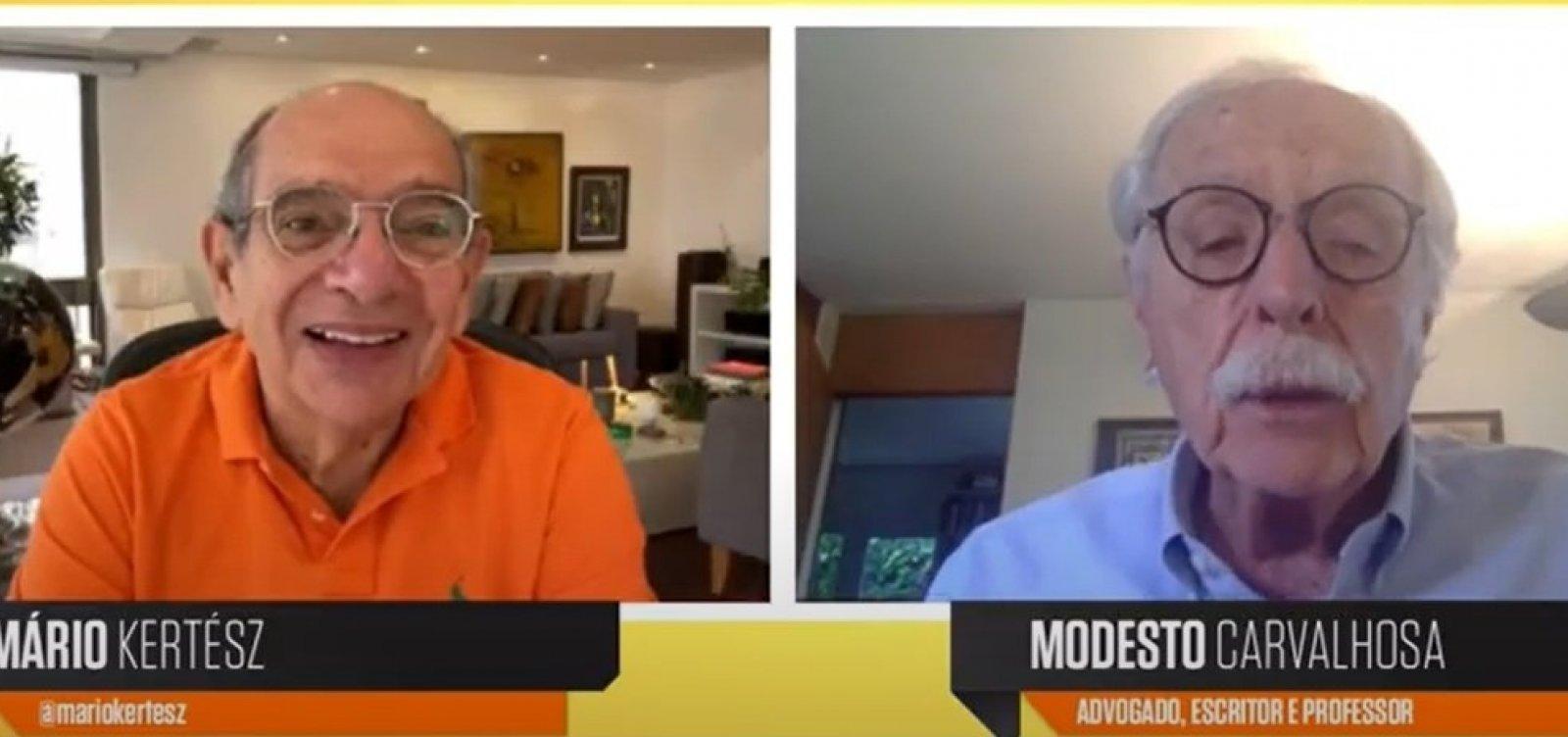 """""""Precisamos de uma nova constituição para o Brasil"""", diz Modesto Carvalhosa"""