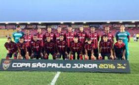 Vitória vence o Altos (PI) pela 2ª rodada da Copa São Paulo