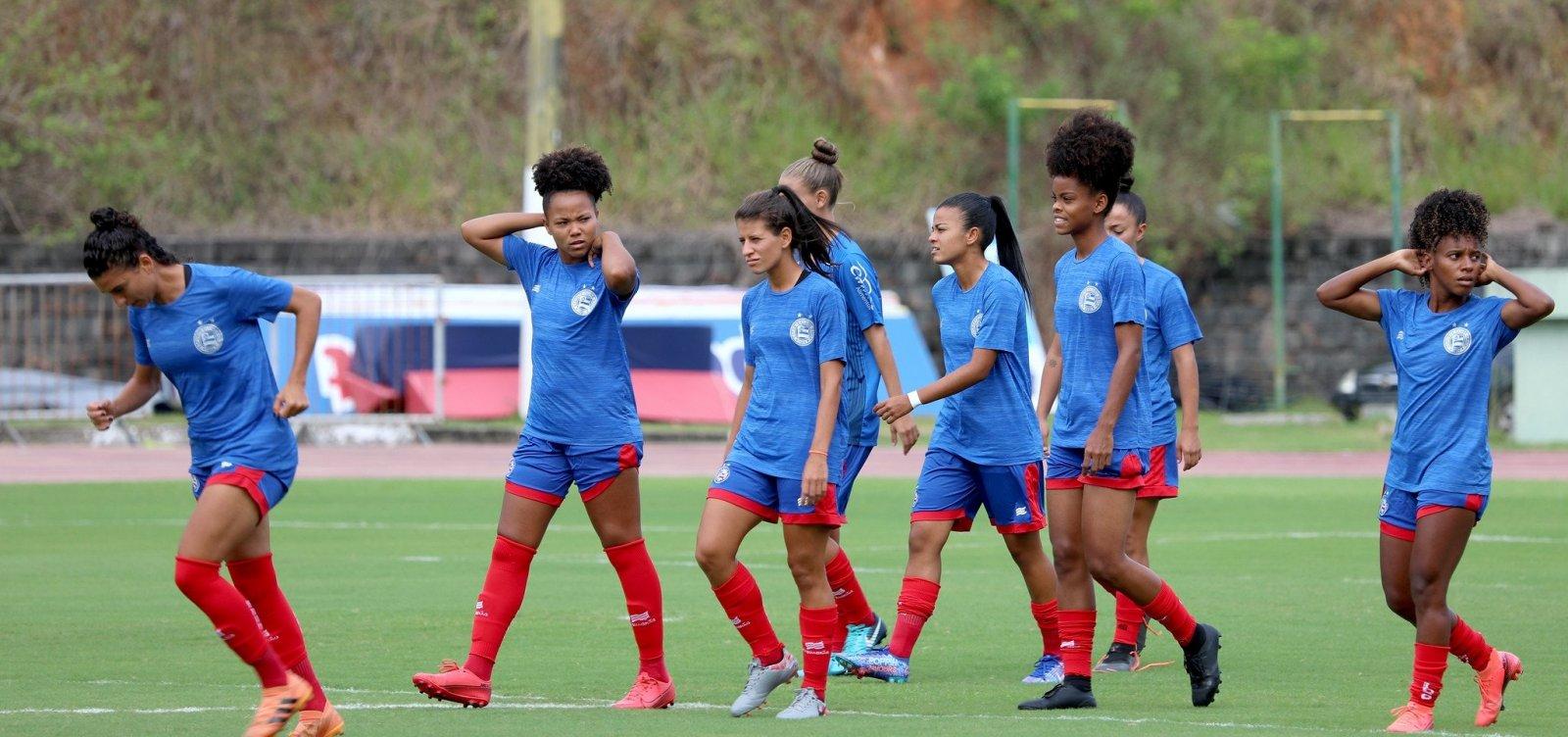 Jogadoras do Bahia são vítimas de racismo durante transmissão