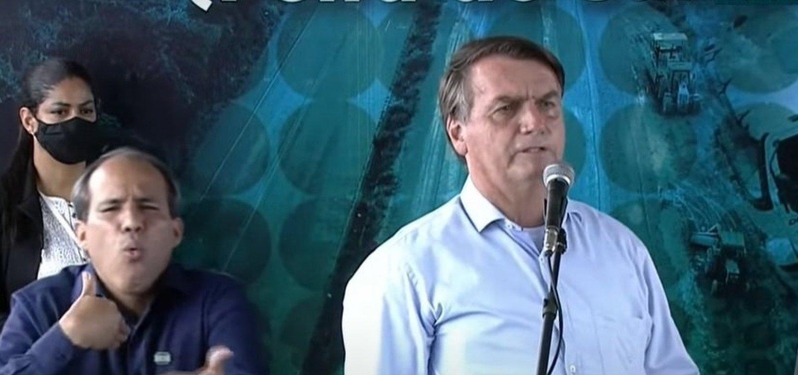 """Na Bahia, Bolsonaro promove aglomeração e ataca governadores: """"Querem impor a ditadura no meio de vocês"""""""