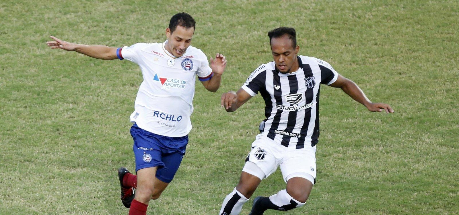 Bahia goleia time boliviano e mira o Ceará na final do Nordestão