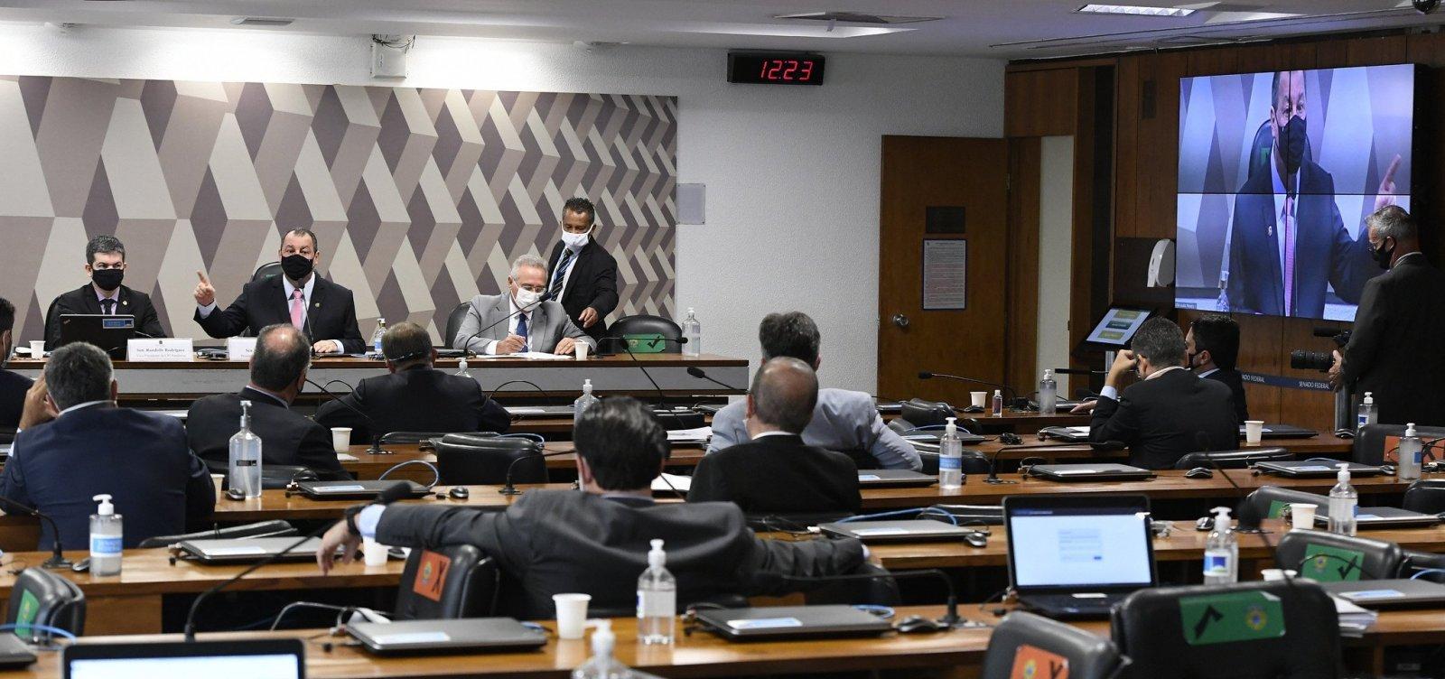 Requerimentos de senadores governistas para CPI da Covid saíram do Planalto