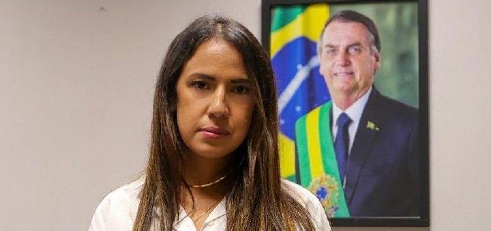 """Deputada bolsonarista defende Capitão Alden e fala em """"traição"""" e """"covardia"""""""