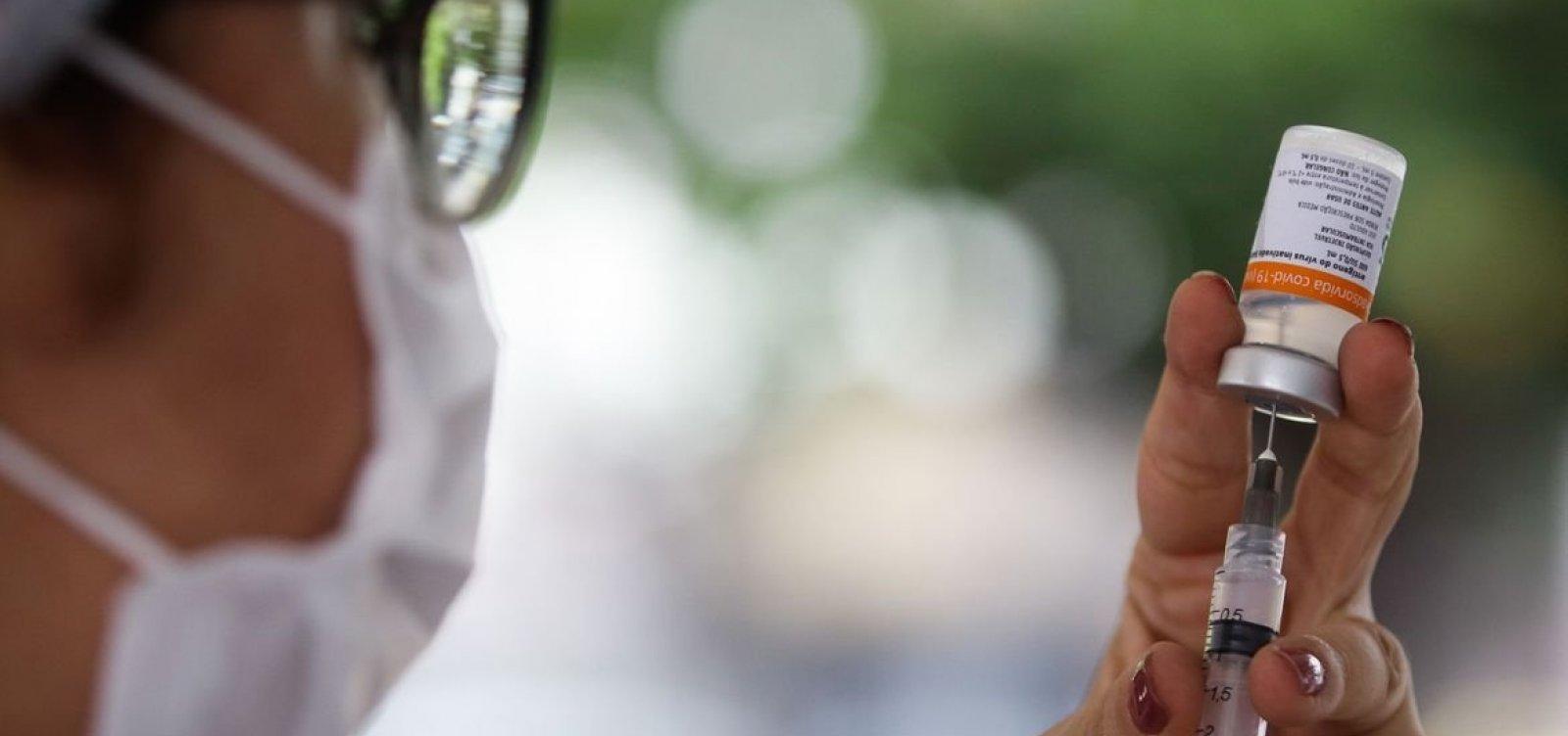 Até domingo 10,9 milhões de doses de vacinas serão disponibilizadas no Brasil
