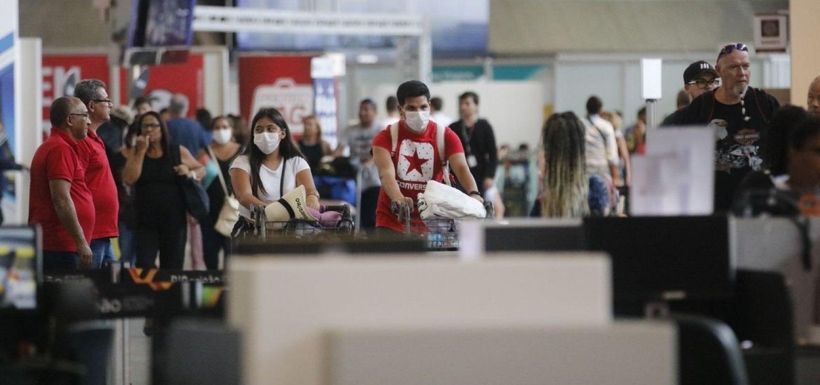 Portugal prorroga restrições a voos com o Brasil até meados de maio