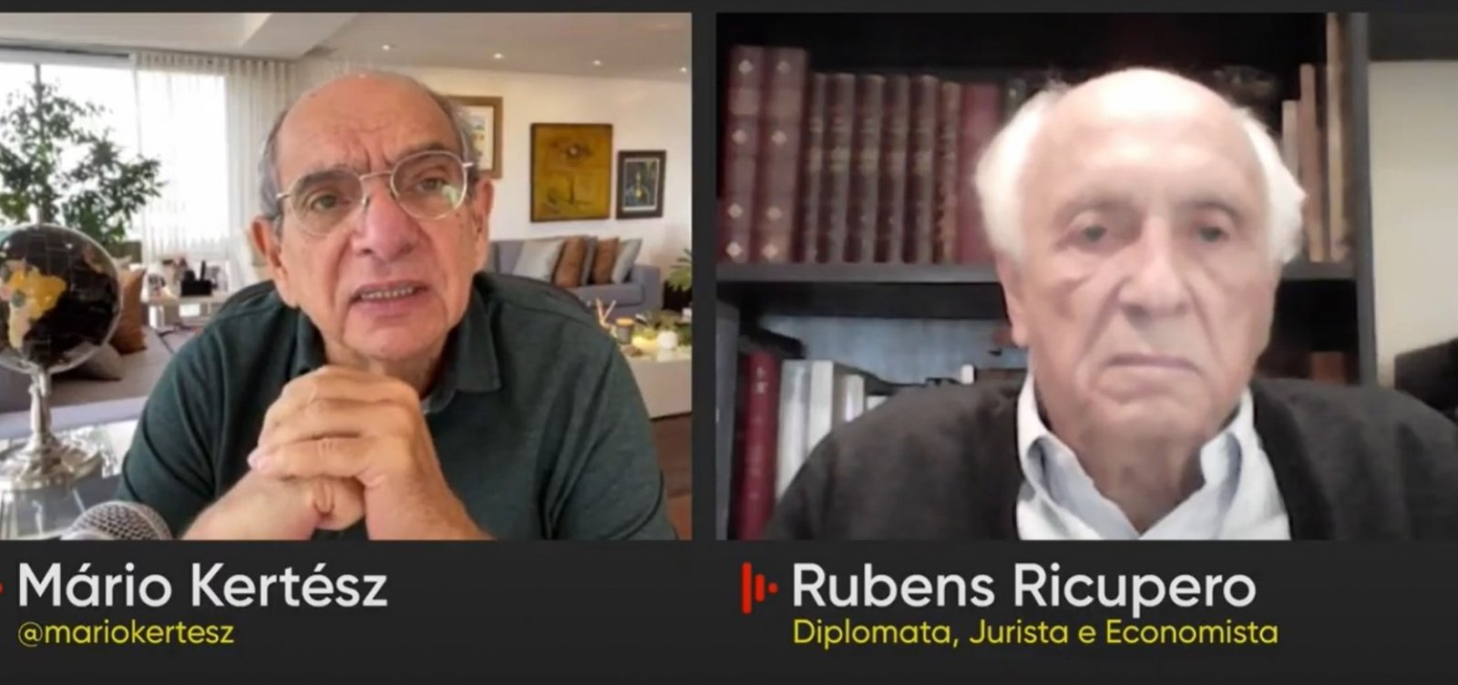 """O Brasil se tornou um país maligno ao mundo"", diz Rubens Ricupero"