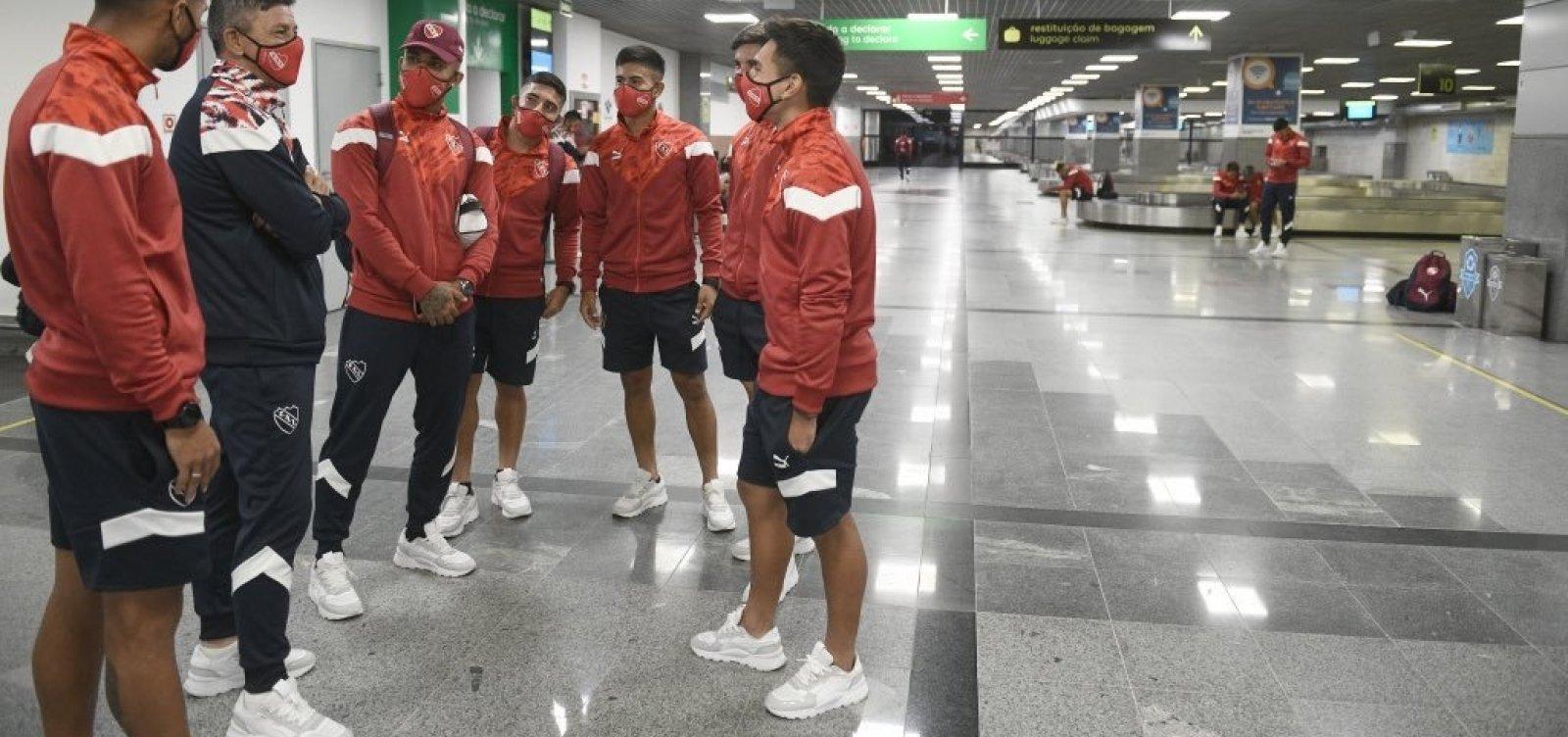 Jogo do Bahia é adiado após jogadores do Independiente testarem positivo para covid-19