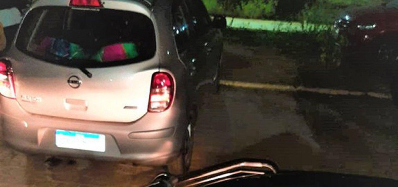 Homem é preso pela segunda vez ao ser flagrado dirigindo carro clonado em Barreiras