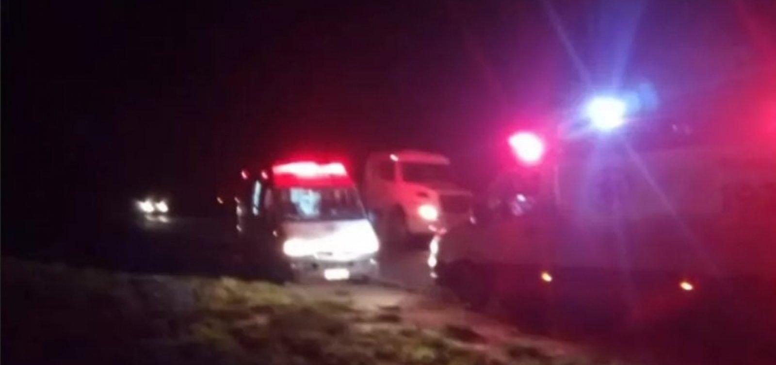 Acidente na BR-020 mata cinco pessoas da mesma família