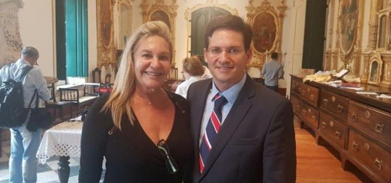 Graça Violland, mãe do ministro João Roma, morre no Recife