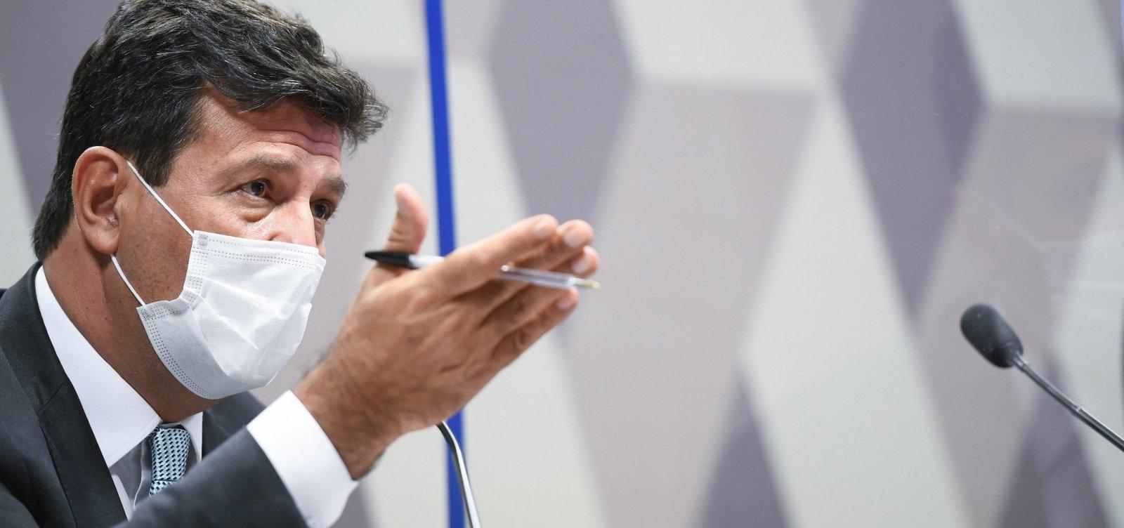 CPI da Covid: governo Bolsonaro não quis fazer campanha de combate à doença, diz Mandetta
