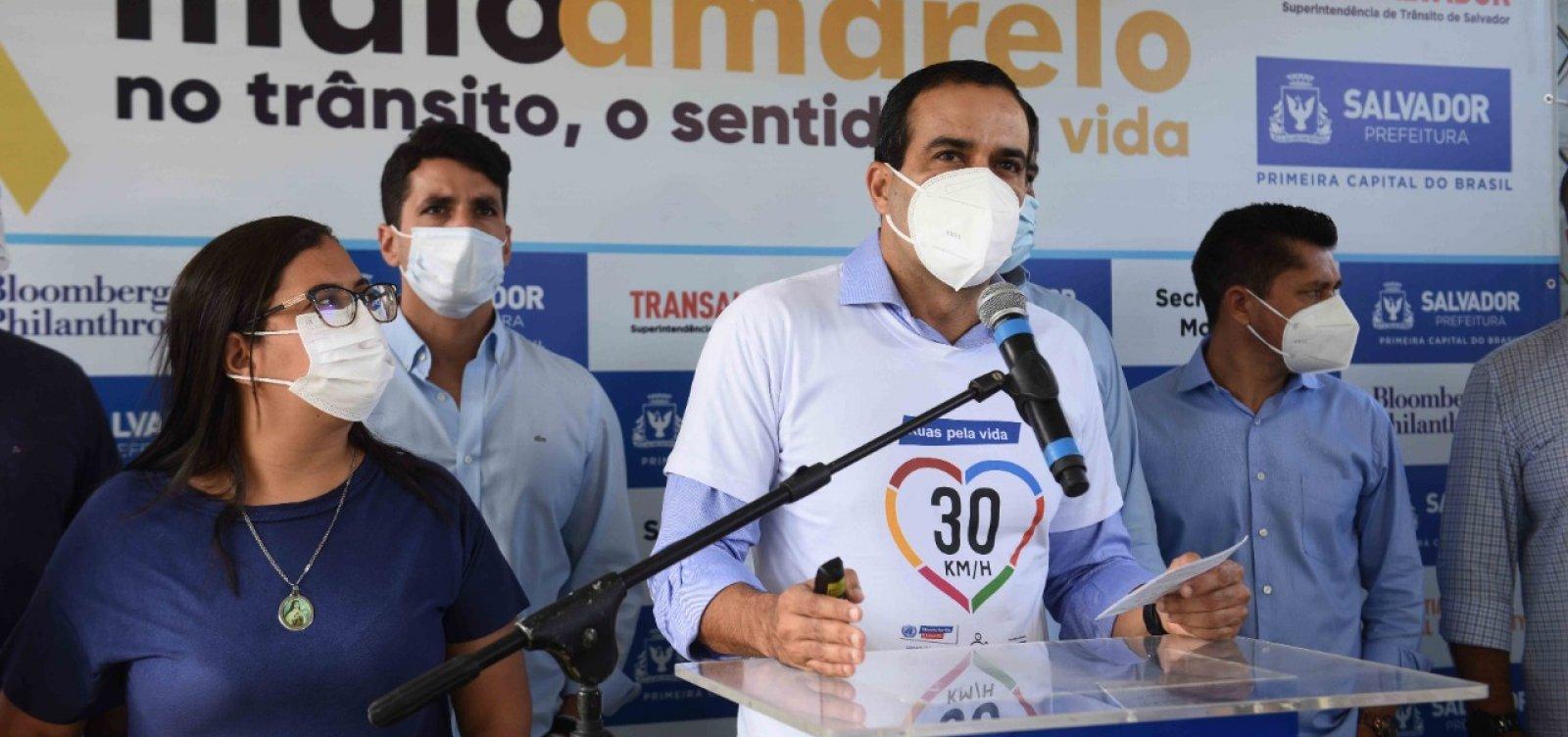 """Prefeito admite crise da segunda dose em Salvador: """"não dá pra suprir todo o público"""""""